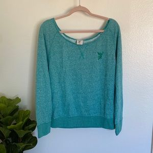 RARE Walt Disney Imagineering Teal Sweater XL
